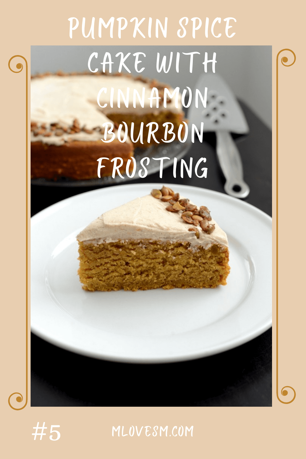 One of my all-time favorite fall cake recipes.