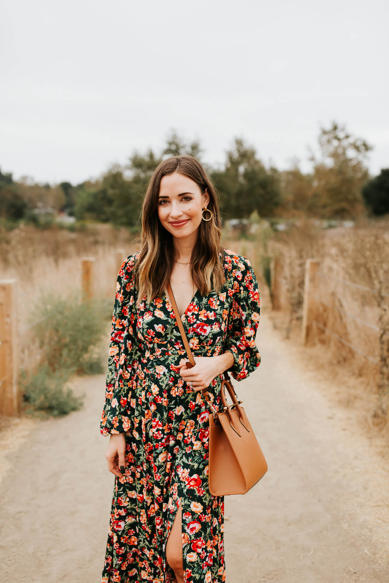Adoring fall floral styles