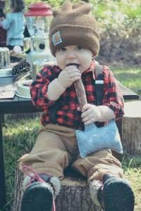 Lumberjack costume for boys