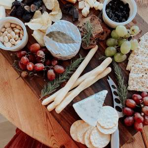 a delicious holiday cheese board with Point Reyes Cheese - M Loves M @marmar