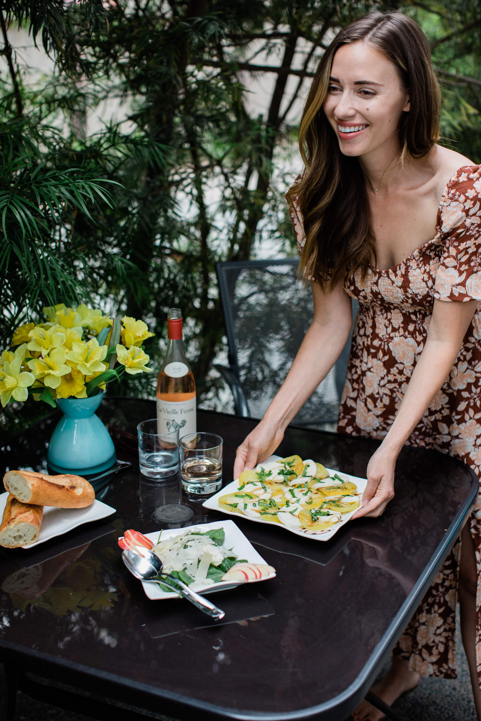 my trick for putting together a last minute happy hour - M Loves M @marmar