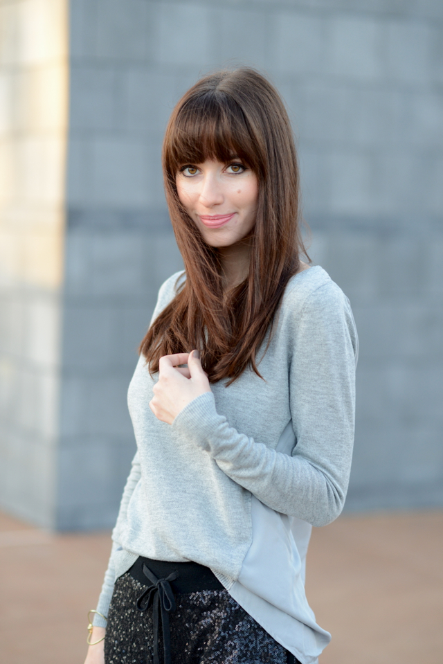 gray sweater via M Loves M @marmar