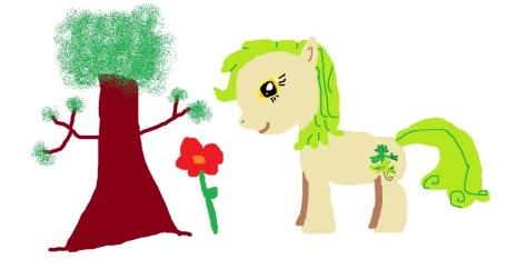 Ivy tree flower