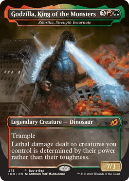 """Godzilla, King Of The Monsters Comes To """"Magic: The Gathering"""""""