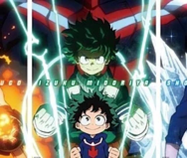 My Hero Academia Heroes Rising Release Date Announced