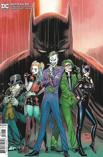Batman # 89 Third Print Cover