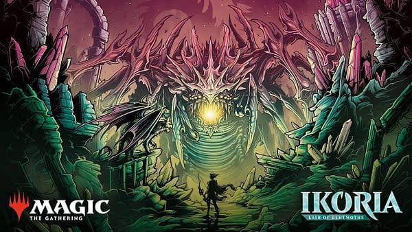 Ikoria, Lair of Behemoths artwork from Wizards of the Coast.