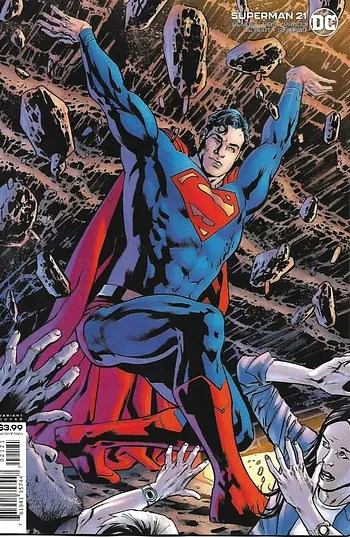 Superman # 21 Variant Cover