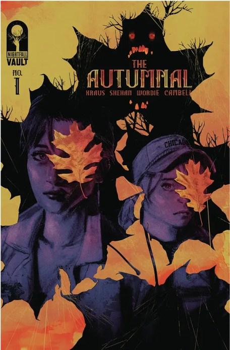 """Daniel Kraus lance Autumnal # 1 dans Vault septembre 2020 sollicitations. """"Width ="""" 600 """"height ="""" 915"""