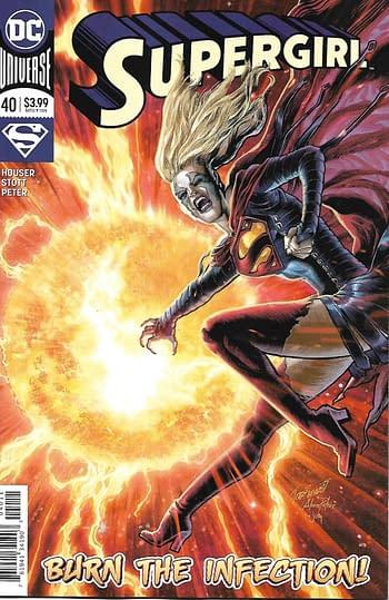 Couverture principale de Supergirl # 40