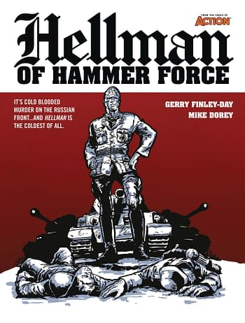 Cover image for HELLMAN OF HAMMER FORCE TP