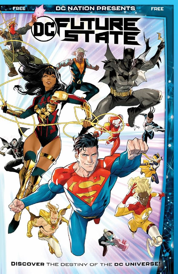 Comic Shops Get Free DC Nation Presents: DC Future State in November