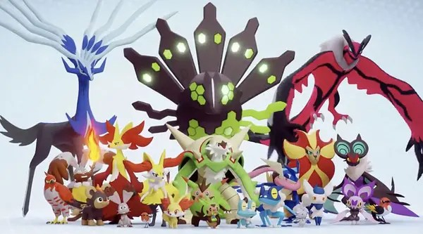 Kalos promo image in Pokémon GO. Credit: Niantic