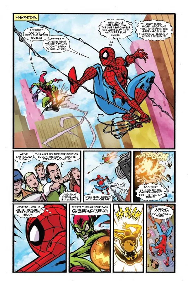 Interior preview page from AMAZING FANTASY #1 (OF 5)