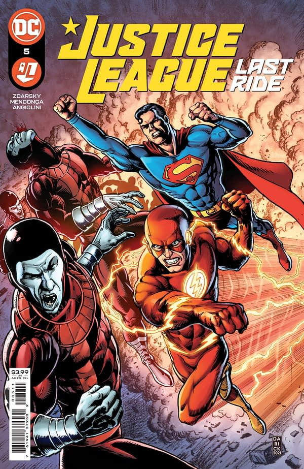 Justice League Last Ride #5 Review | The Aspiring Kryptonian
