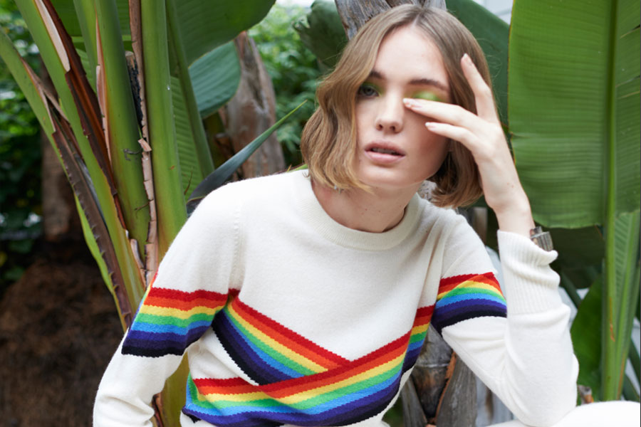 Madeleine Thompson, cashmere designer, knitwear, fashion PR, London Fashion PR