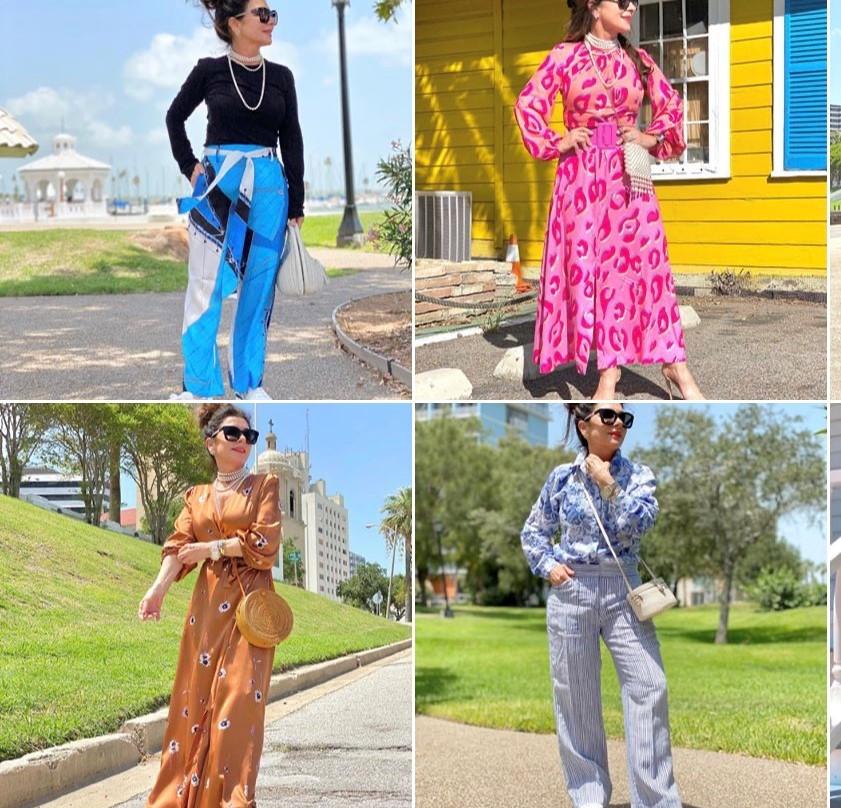 Brigitte Marie Foret fashion Instagram account