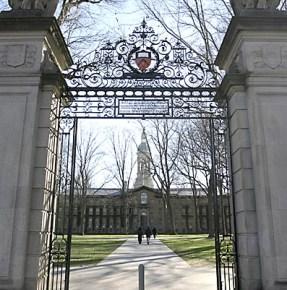 The Nathaniel Fitz Randolph Gate at Princeton University