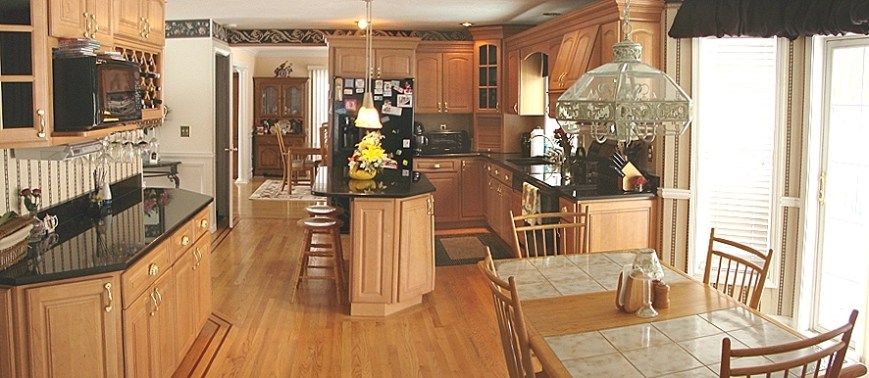 Windham NH property for sale - Country Woods | MLScast on Maple Kitchen Cabinets With Black Granite Countertops  id=26918