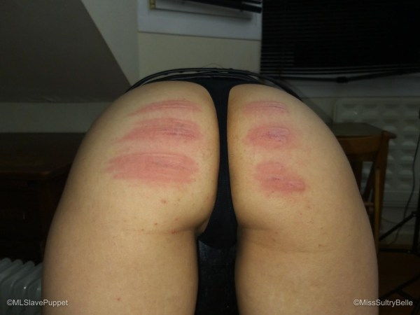 My First Caning Session