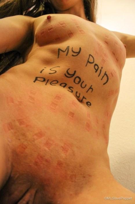My Pain is your Pleasure