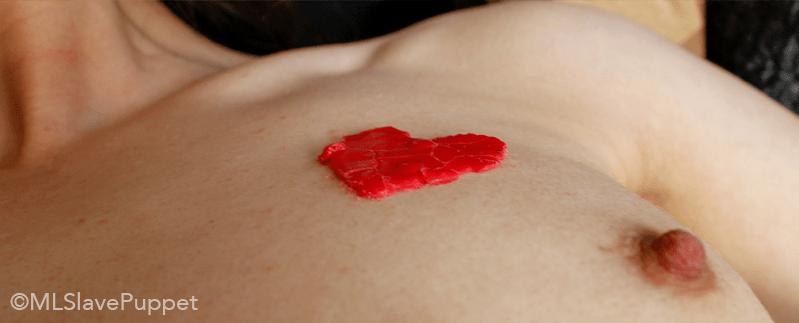task 12: wax hearts