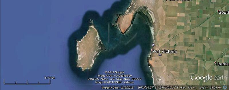 Wardang Island - Google Earth
