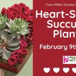 Heart Shaped Succulent Planter