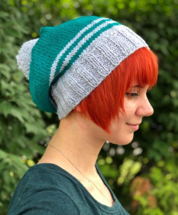 4efbd478e74 Kit is only  7.99 contains enough Encore Worsted to knit up this Adult  Eagles Hat. FREE Pattern in kit.