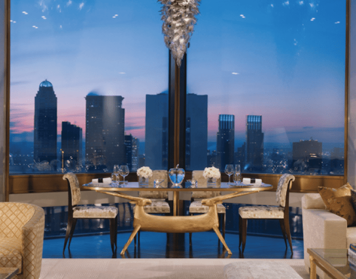 Four Seasons New York Ty Warner Suite