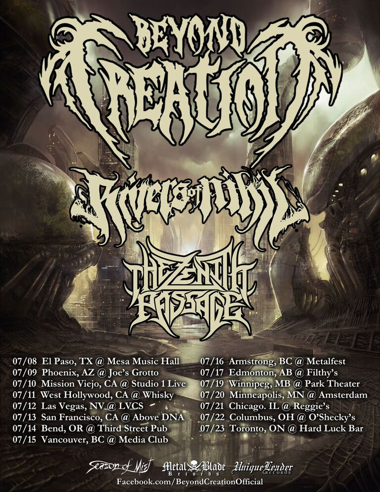 Rivers of Nihil TOUR