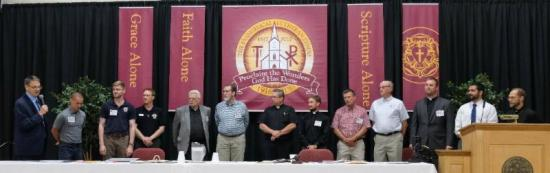 Pastors, teachers, and congregations received into membership