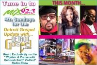 The 'Detroit Gospel Update with DetroitGospel.com' - August 2015