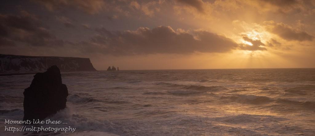 Sunrise at Dyrhólaey