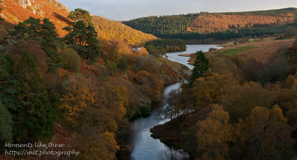 Mid Wales in Autumn – Penygarreg Reservoir