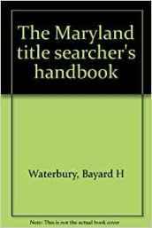 Title Searchers Manual