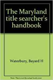 Title Searchers Manual