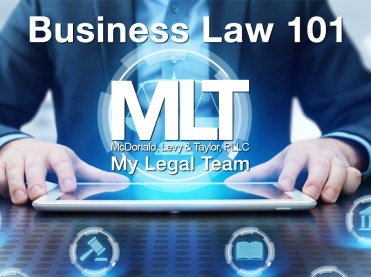 Business Law Basics For Entrepreneurs or Weekend Hobbyists