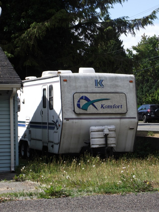 "An ""un-kept"" RV on 52nd Avenue West"