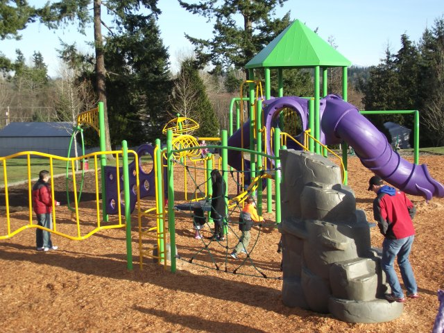 New Brier Park playground, Jan. 5 013