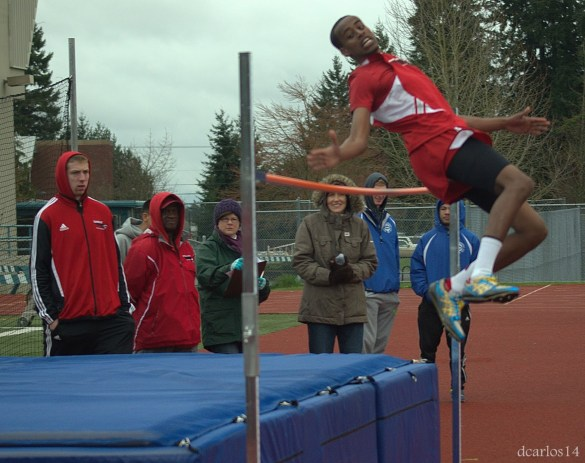 Yonnas Tewolde finished sixth in the high jump.
