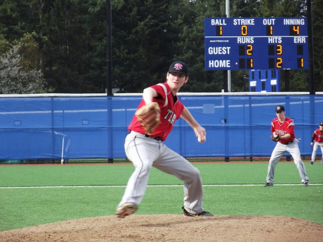Hawk starting pitcher Dominic DeMiero pitched nine innings, gave up two runs on eight hits, and earned a no-decision.