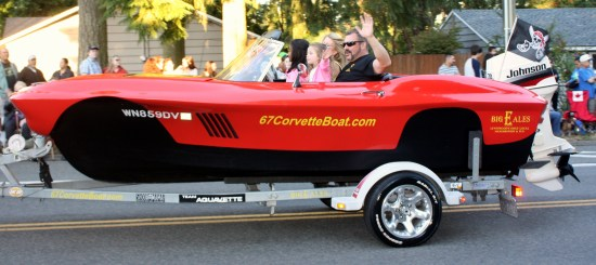Yes, this is a Corvette boat.