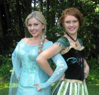 Disney Princesses Elsa and Anna will be at the Holly House booth at this week's Lynnwood Farmers Market in Wilcox Park.