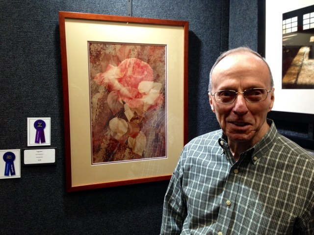 "Dick McMahon wins the ""Best of Show"" award for his photo ""Together"""