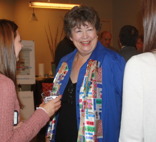 32nd District State Sen. Maralyn Chase was one of several legislators who attended an an appreciation reception hosted by the City Thursday at Arbor Village.
