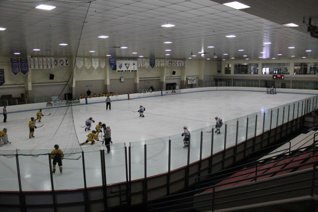 Olympicview Arena in Mountlake Terrace hosts adult and youth hockey and figure skating programs throughout the year, but is especially busy in the fall and winter.