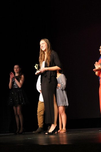 Mountlake Terrace High School's Alisha Clingan was voted as as the Audience Choice winner. (Photos by Doug Petrowski)