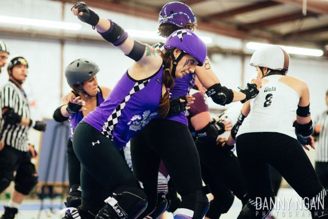Cia WoodNwanna-Bia (1) from Mountlake Terrace, will skate for CarnEvil Saturday night. (Courtesy Danny Ngan Photography)
