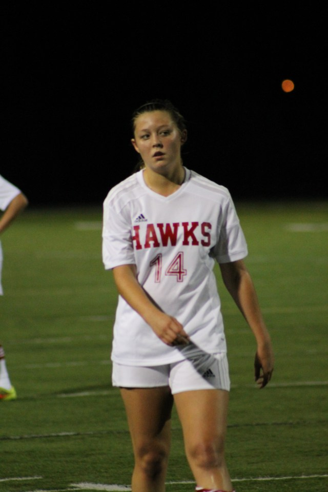 Mountlake Terrace junior Isabel Kembel scored a hat trick Saturday in the Hawks' 6-1 victory over the Nathan Hale Raiders at Edmonds Stadium.